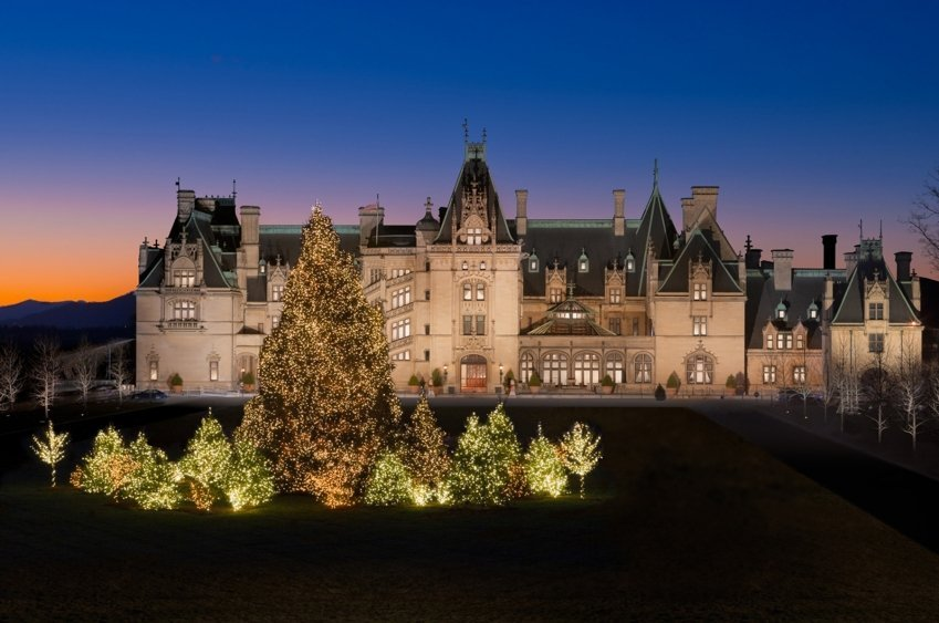Biltmore Estate in Asheville, NC is fun for the kids.