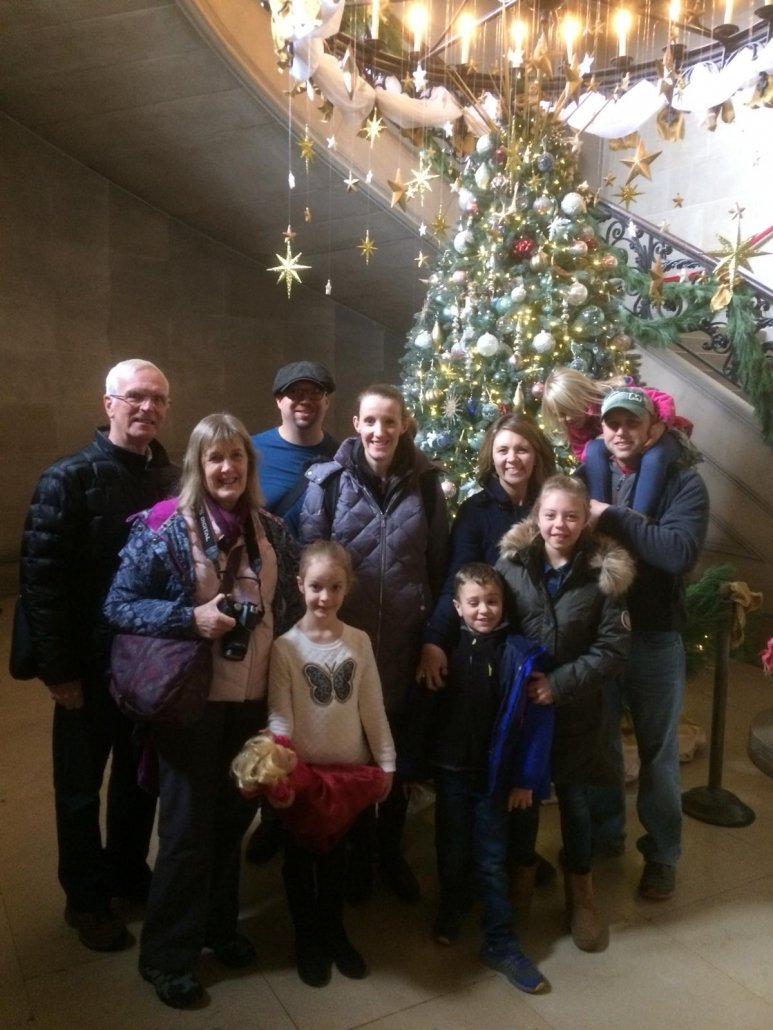 BE Family fun at the Biltmore Estate in Asheville, NC