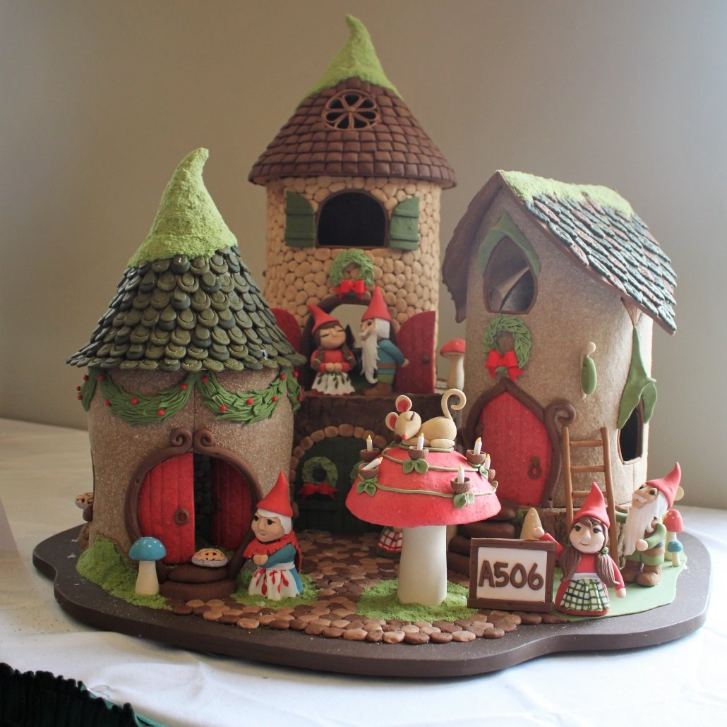 Grove Park Inn Christmas Gingerbread Elf Cottage