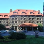 Front Entrance to the Omni Grove Park Inn Asheville, NC