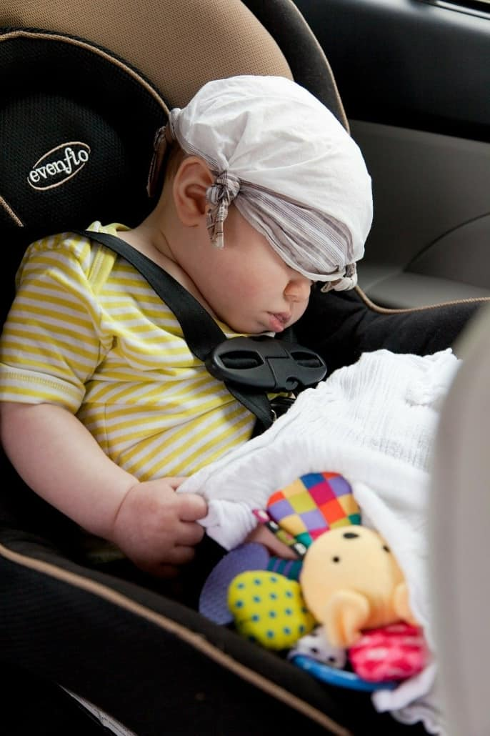 Tips and tricks for Motion Sickness with kids