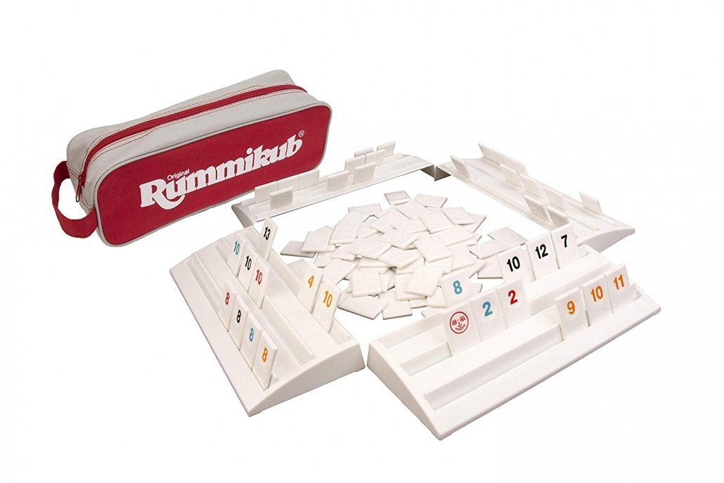 Rummikub on the go for easy family travel