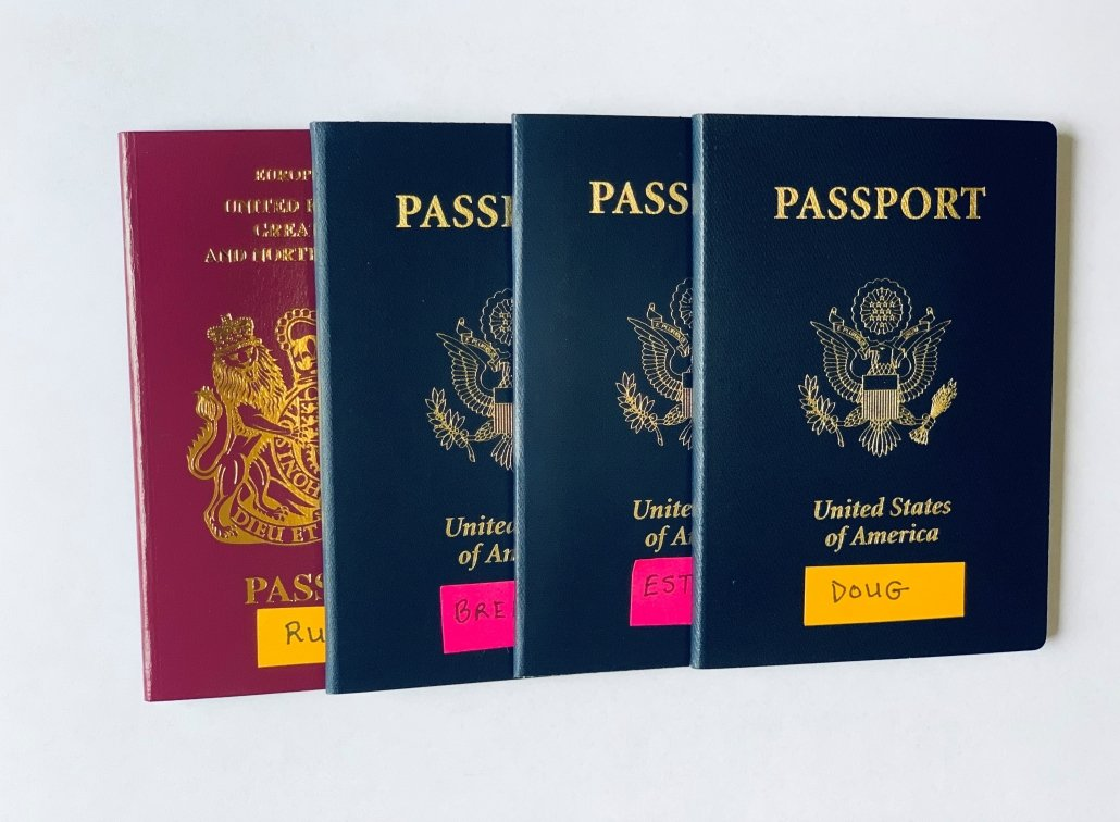 How to organize your family's US passports for travel