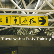 Traveling with potty training toddler