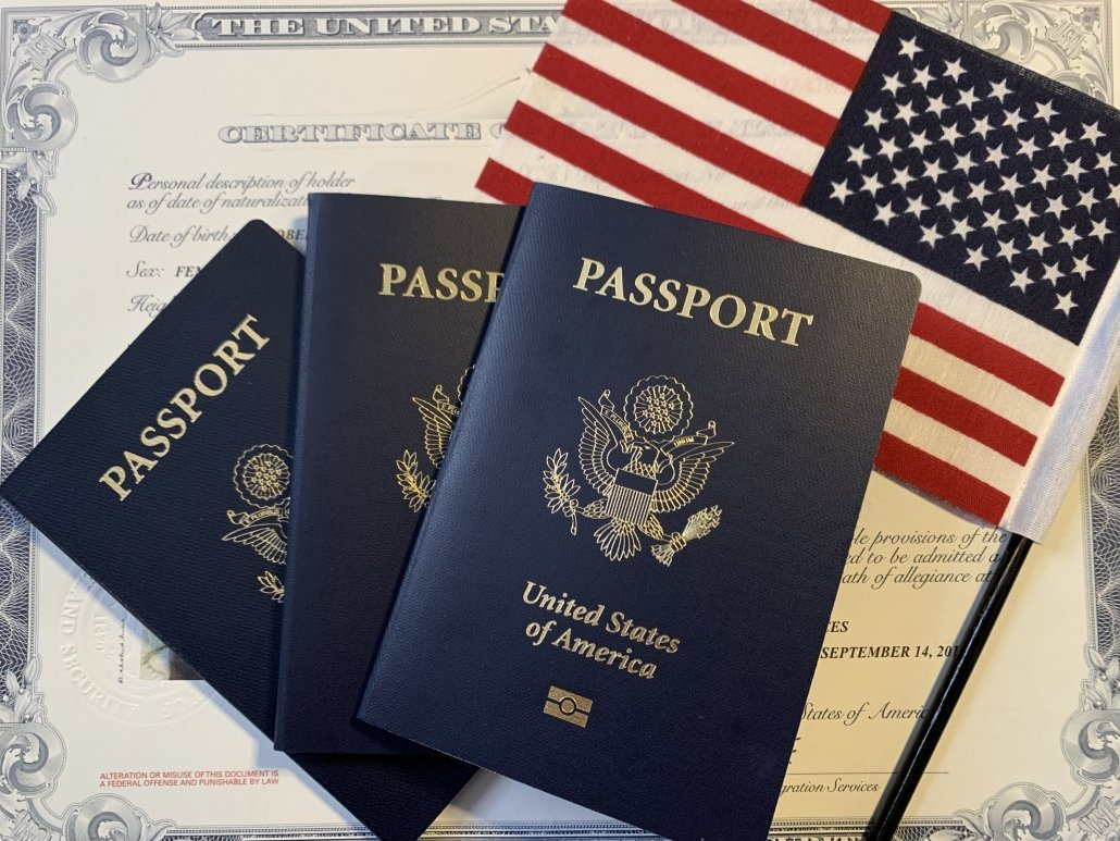 What documentation is needed to get a child a passport