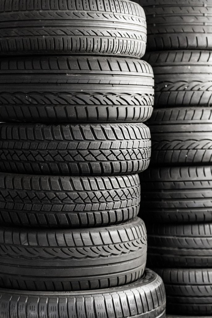 Before you head off on a family vacation check the tread on your tires