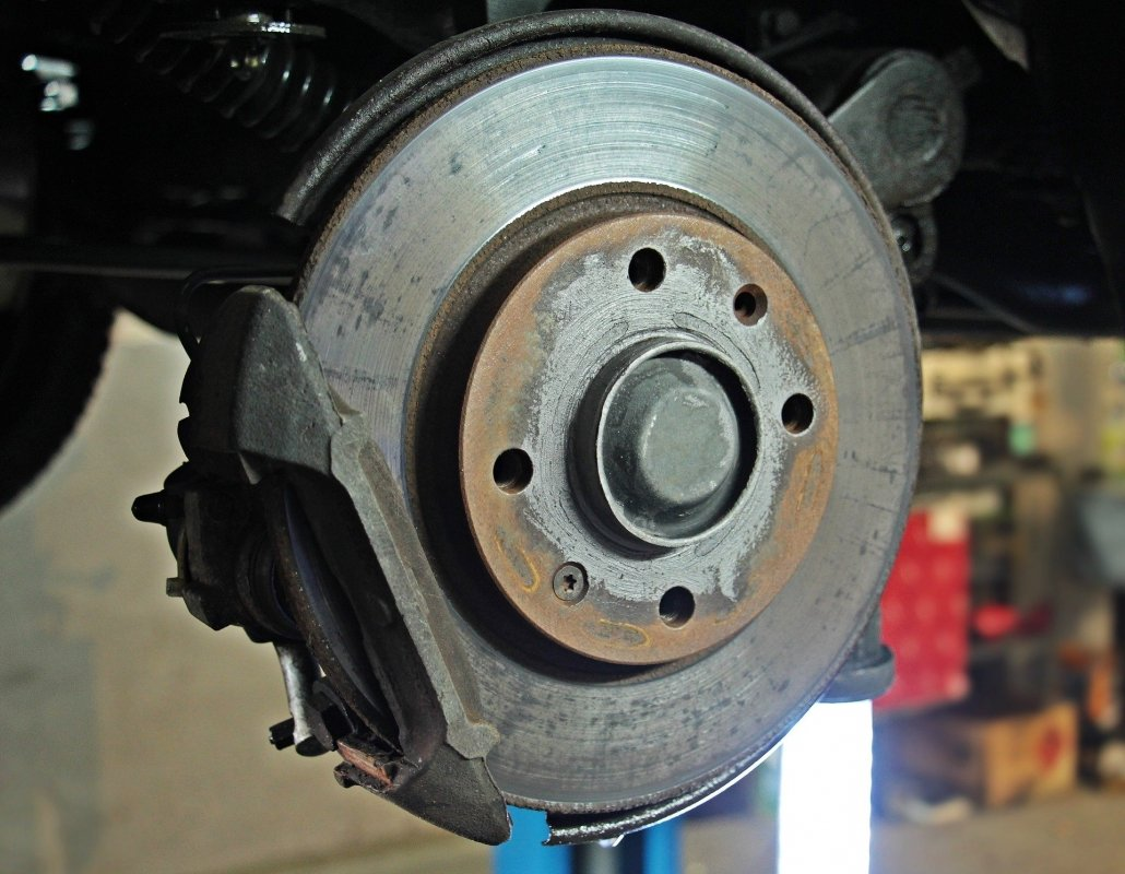 Check the brakes and rotors on your car before heading off on a road trip