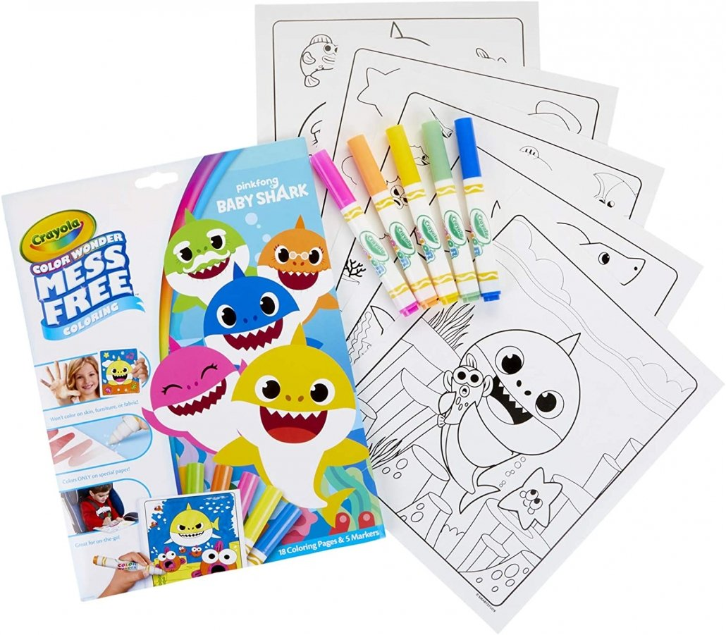 Crayola Mess Free Coloring Set