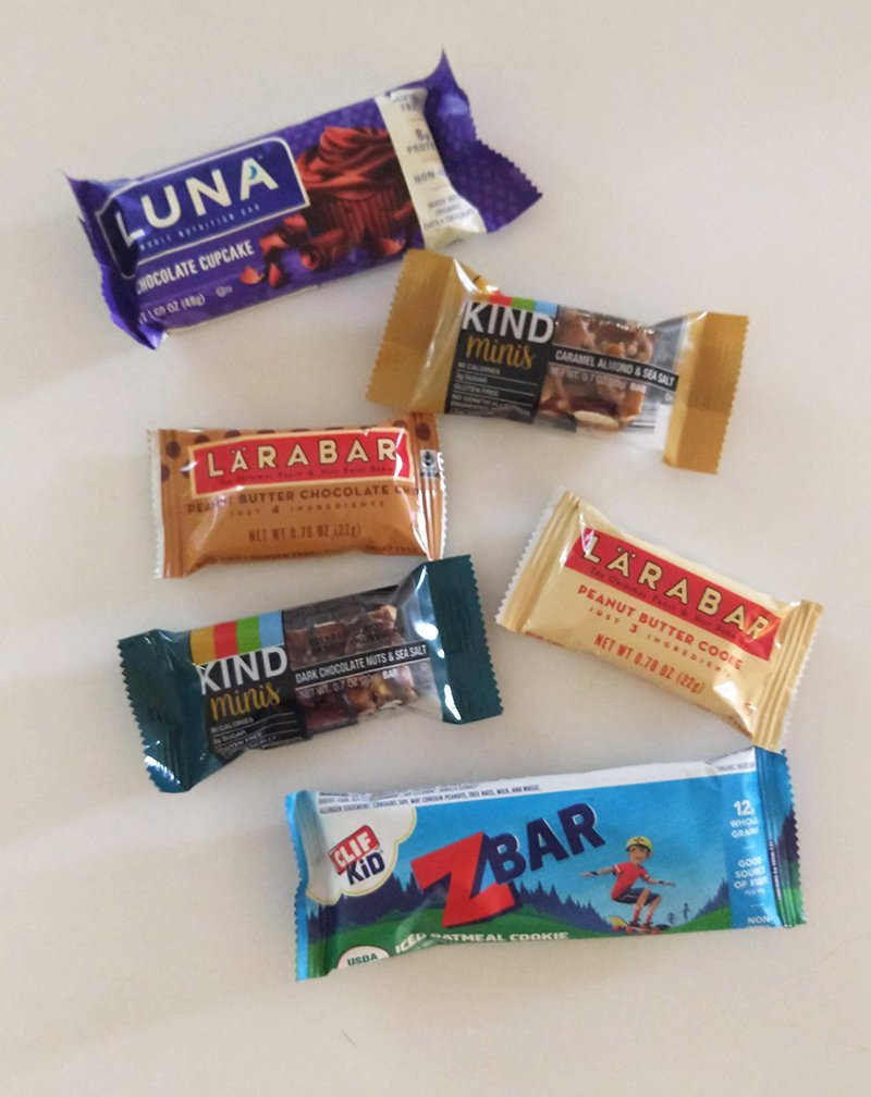 Easy snacks on a road trip with kids