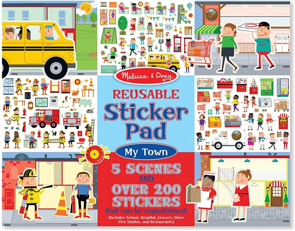 Travel Toys for Toddlers Sticker Book