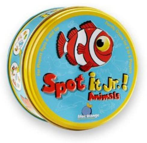 Travel Activities for Kids - Spot It JR. Animals
