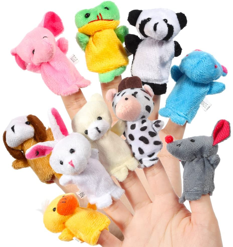 Toddler Travel Finger Puppets