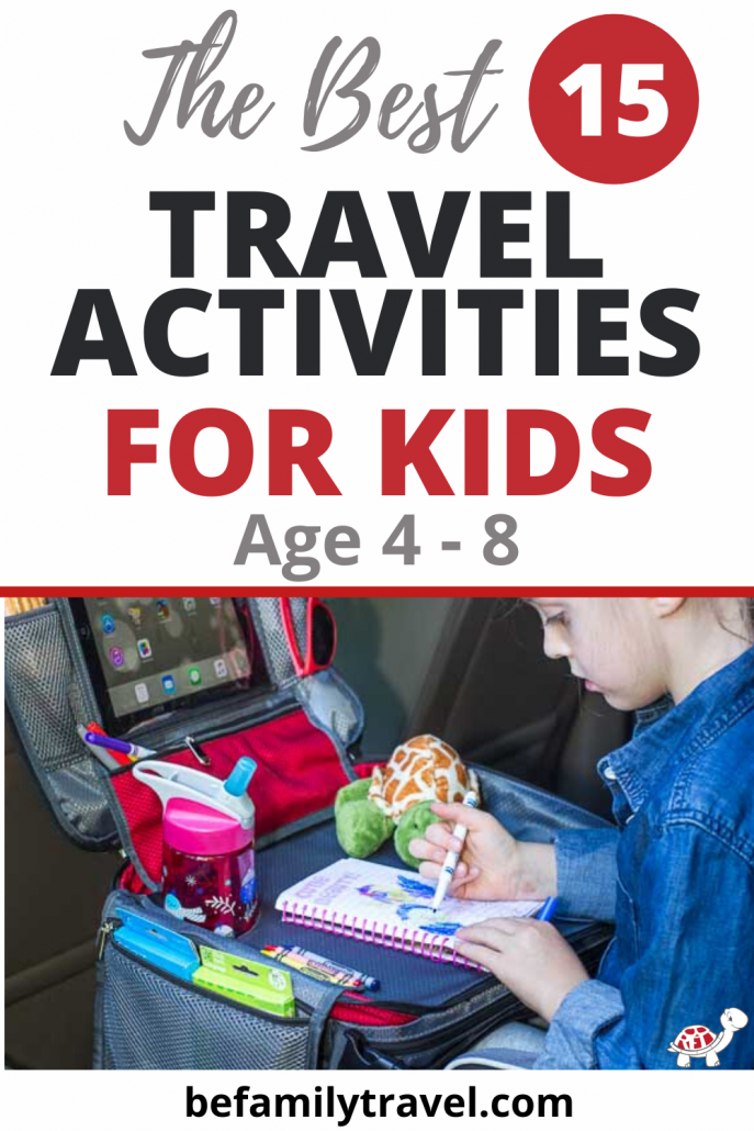 Best Travel Activities for Kids Age 4-8