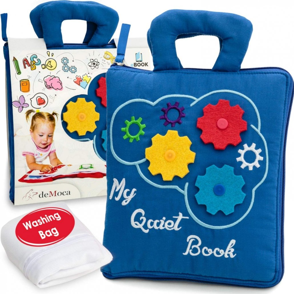 Toddler Travel Toy Busy Book