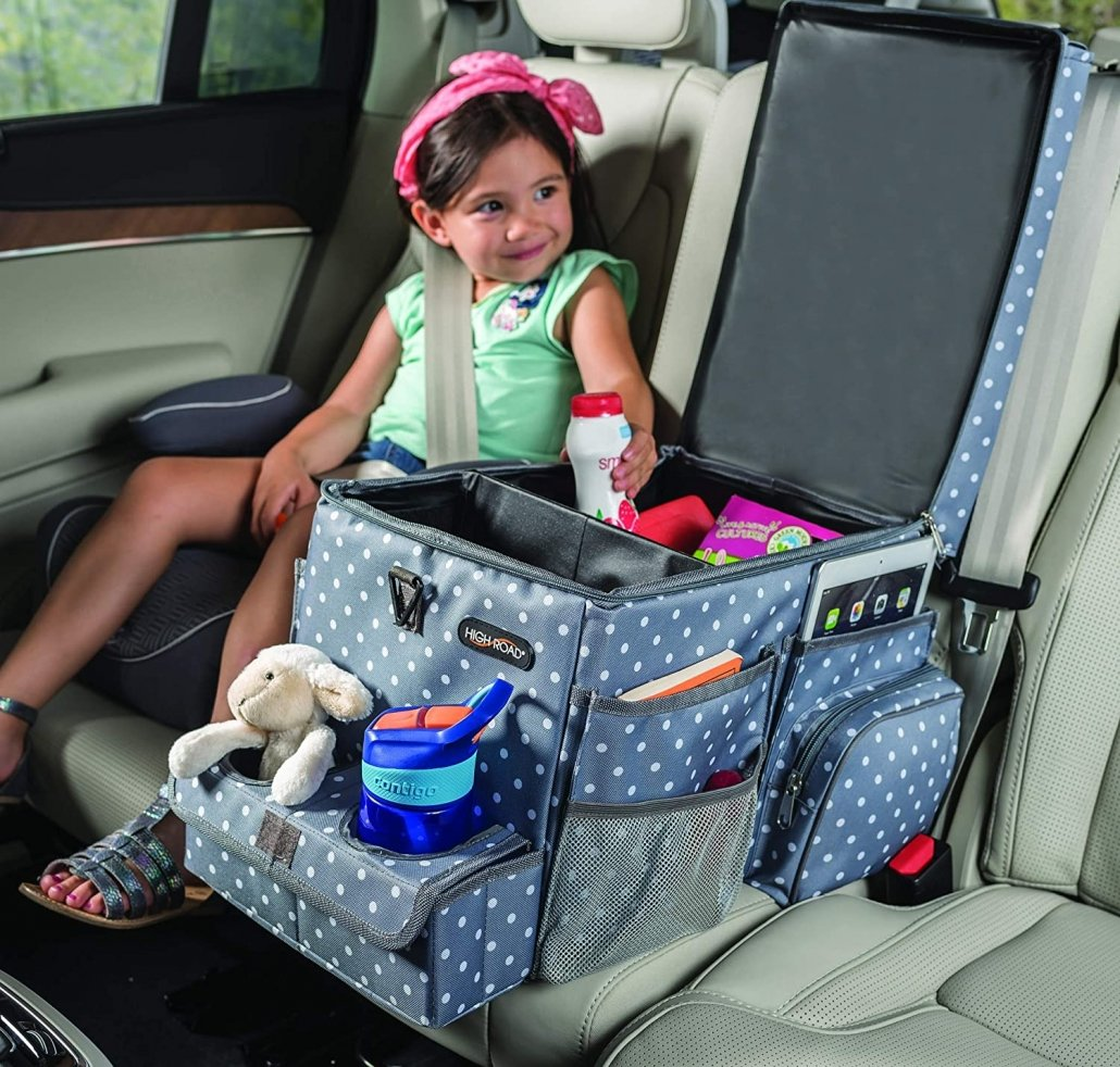 Family Road Trip Storage Organizer