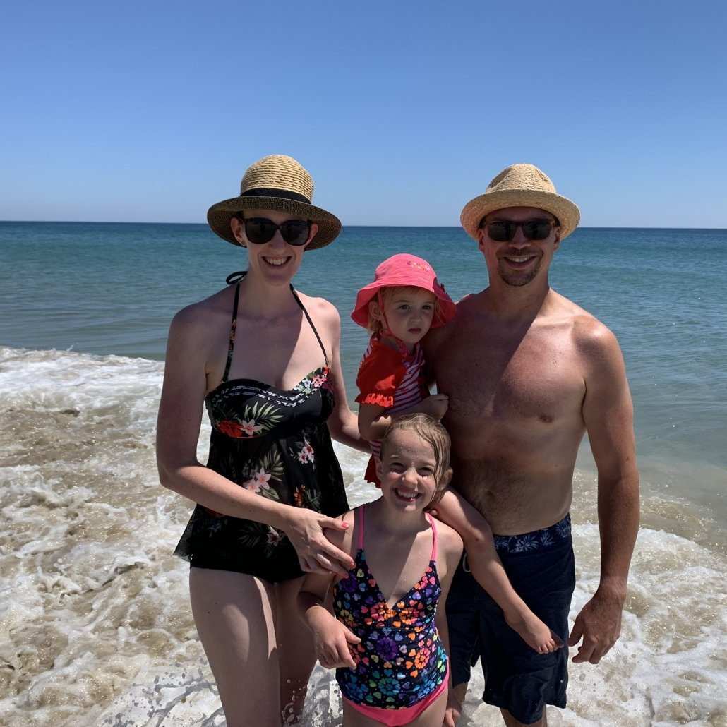 Family Beach Vacation with Kids