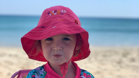 beach essentials with kids