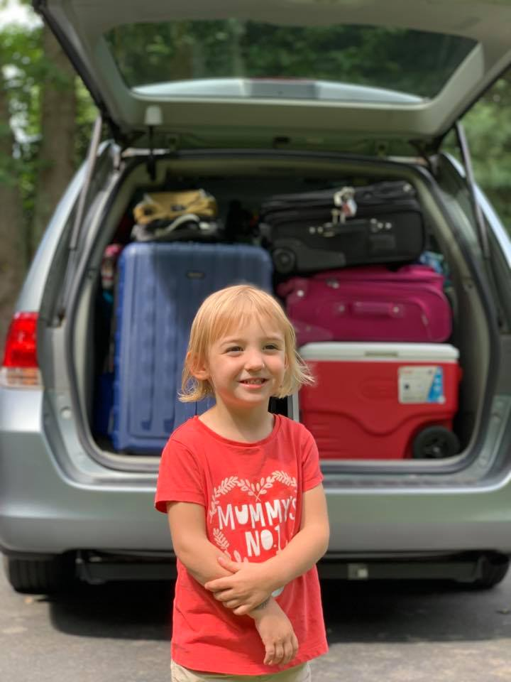 family beach vacation packing