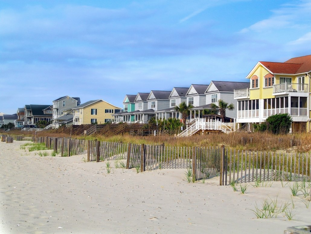 family beach vacation rental property