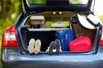 how to pack your car for a family road trip