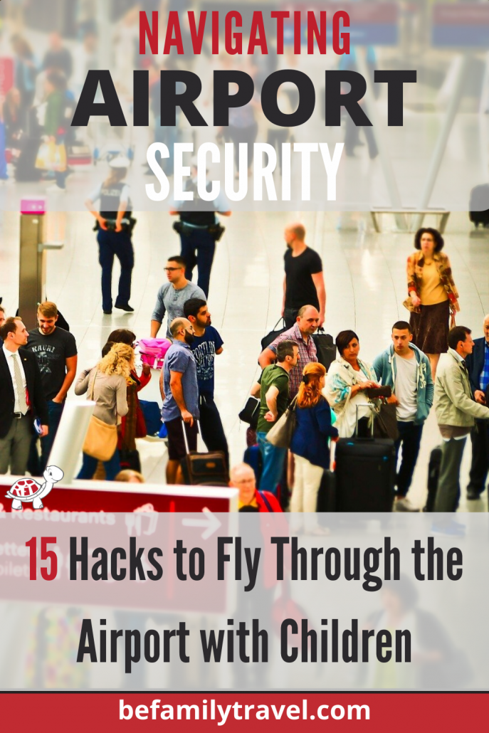 Navigating Airport Security with Kids