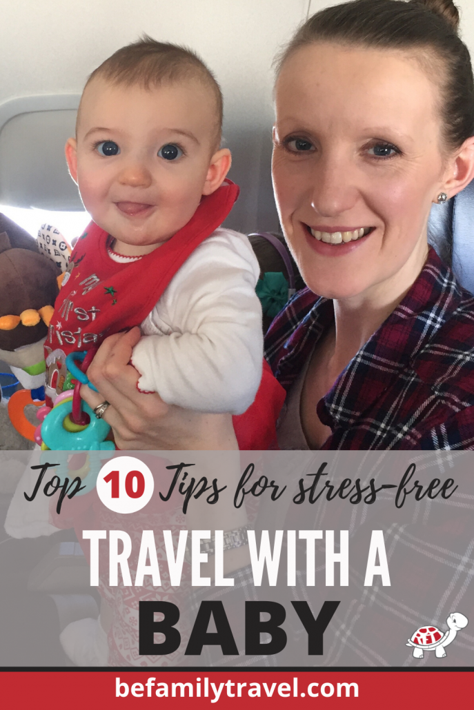 travel with a baby stress free