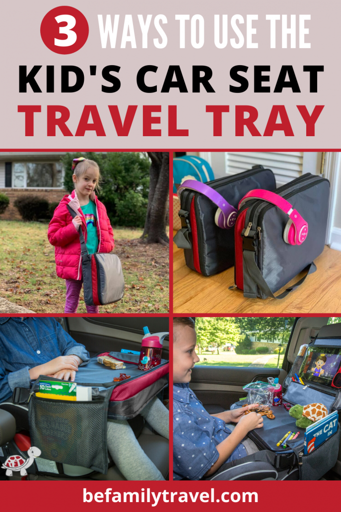 Kid's Travel Tray for Car Seat
