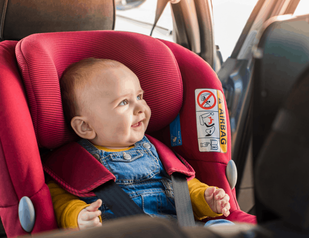Check Baby Car Seat for Road Trip