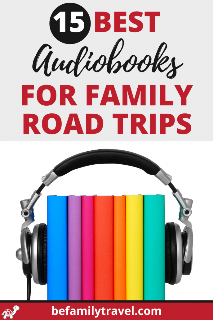 Audiobooks Pin for Family Road Trips