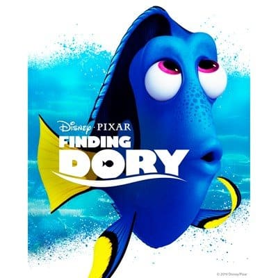 Finding Dory - Family Road Trip Movies