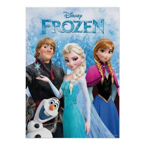 Frozen - Family Travel Movies