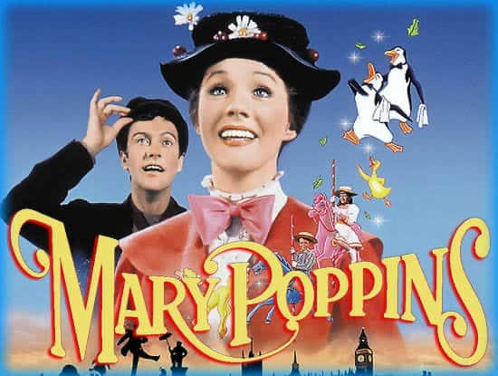 Mary Poppins - Family Road Trip Movies