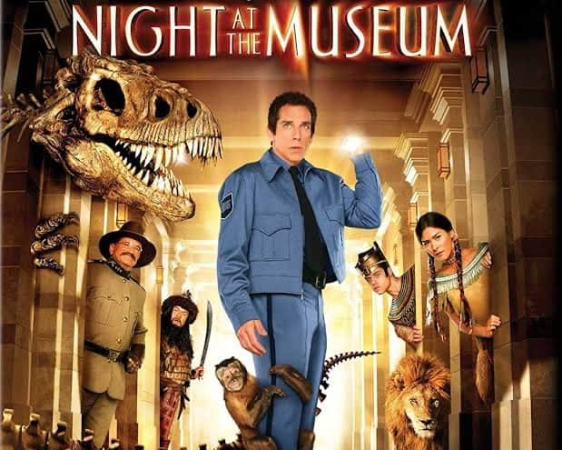 Night at the Museum - Family Movie for Road Trip