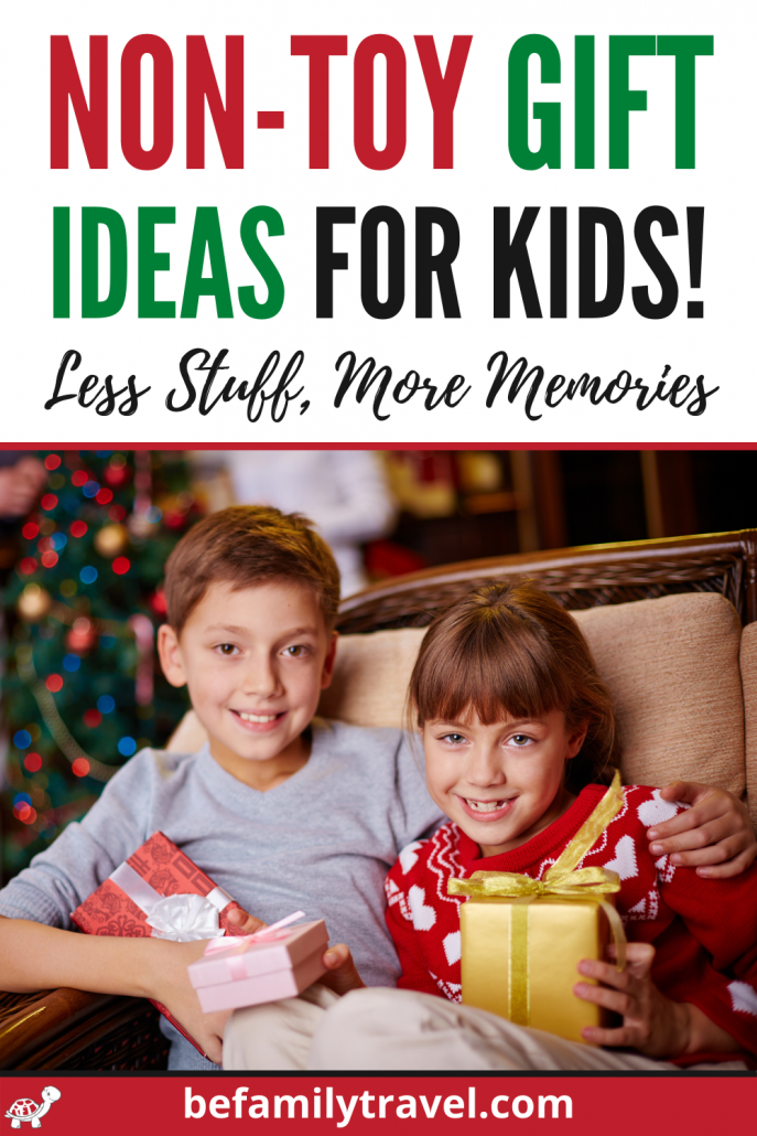Non-Toy Gift Ideas for Kids - Less Stuff, More Memories