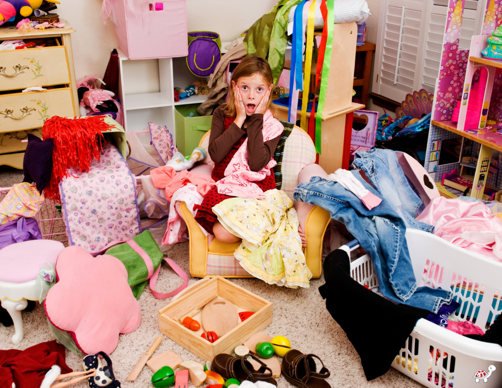Kids Need Less Toys - Messy Room