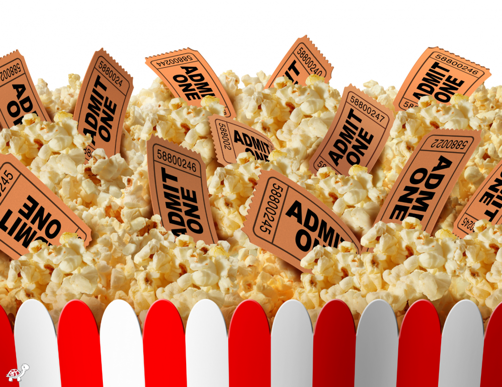 Non Toy Gift is Movie Tickets and Popcorn