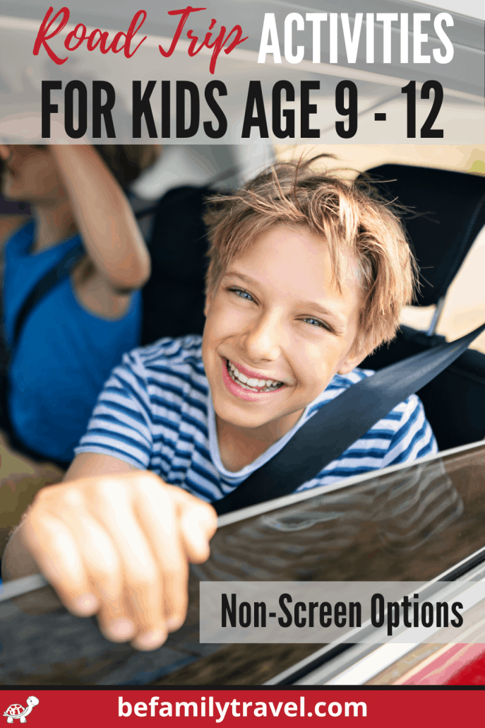 Non-screen ca activities for kids