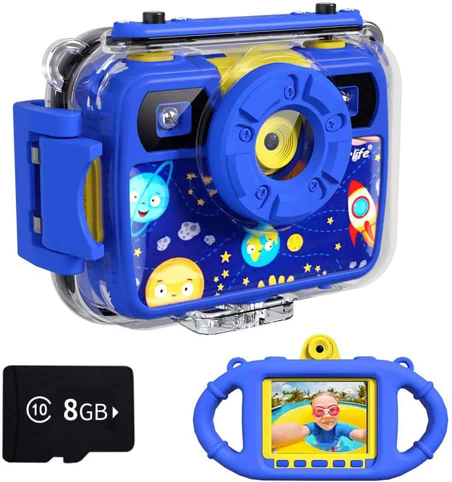 Waterproof Camera Travel Gifts for Kids