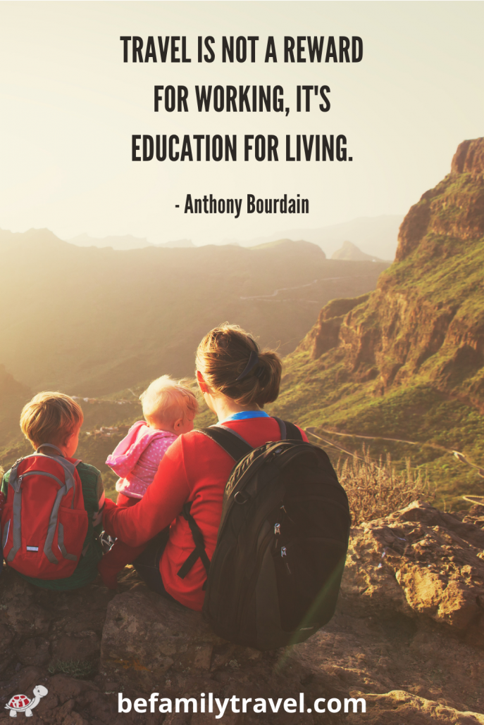 Travel is Education for Kids