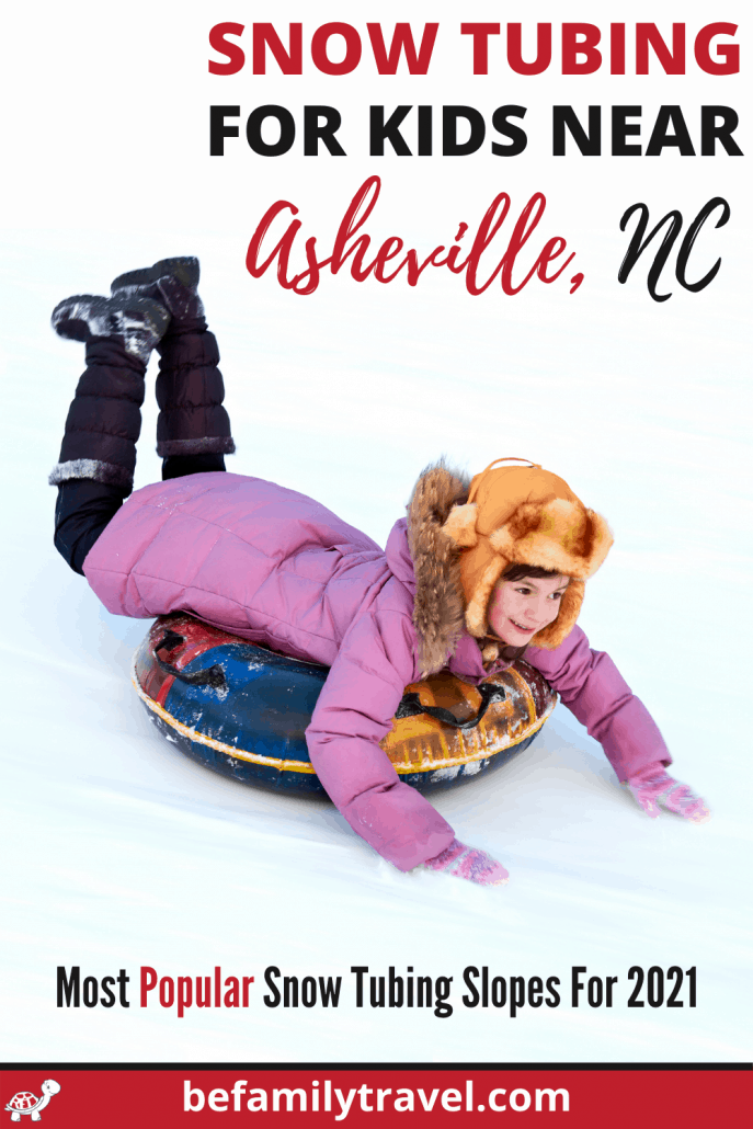 Best Snow Tubing for Kids in Asheville NC