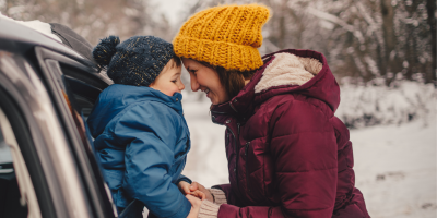 How to Pack for a Winter Road Trip with Kids?