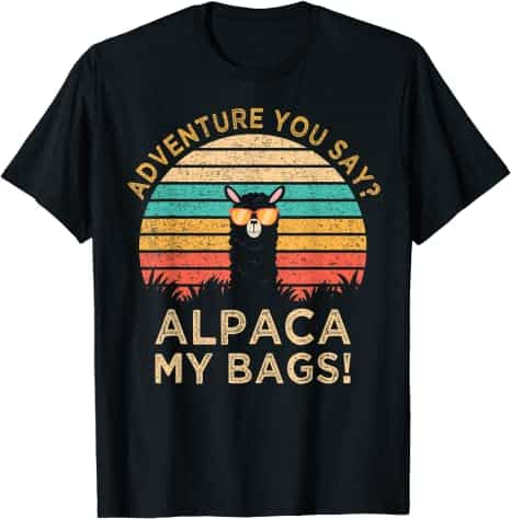 adventure t-shirt for dad