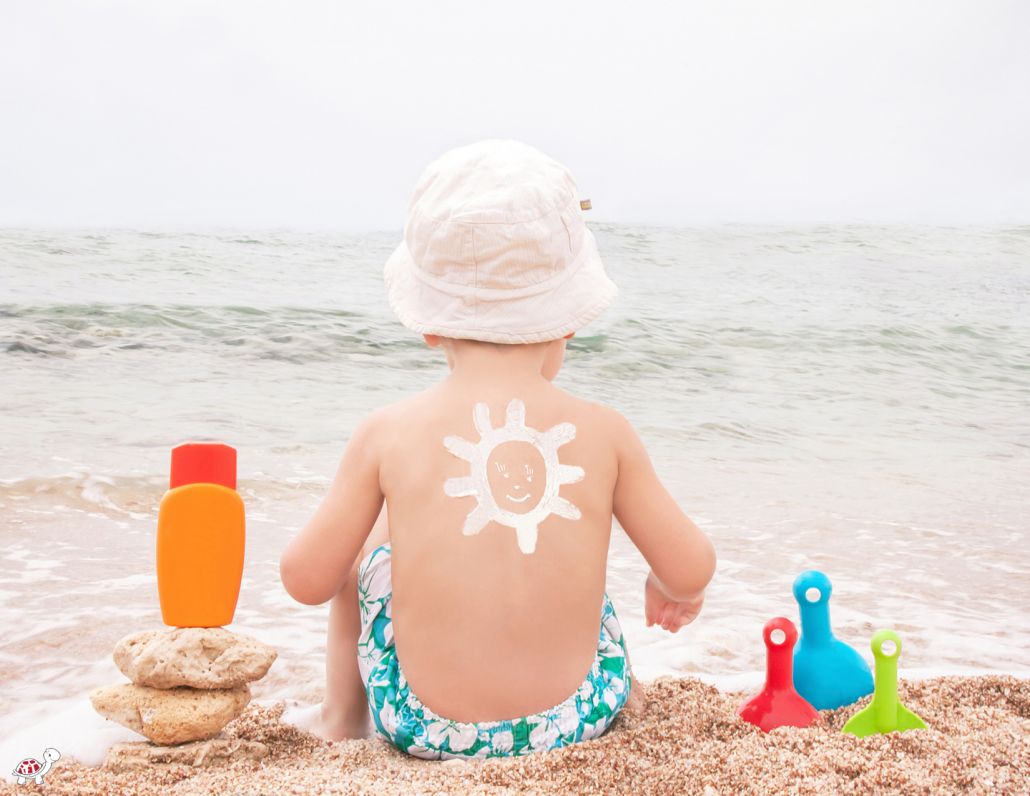 what age can a baby wear sunscreen