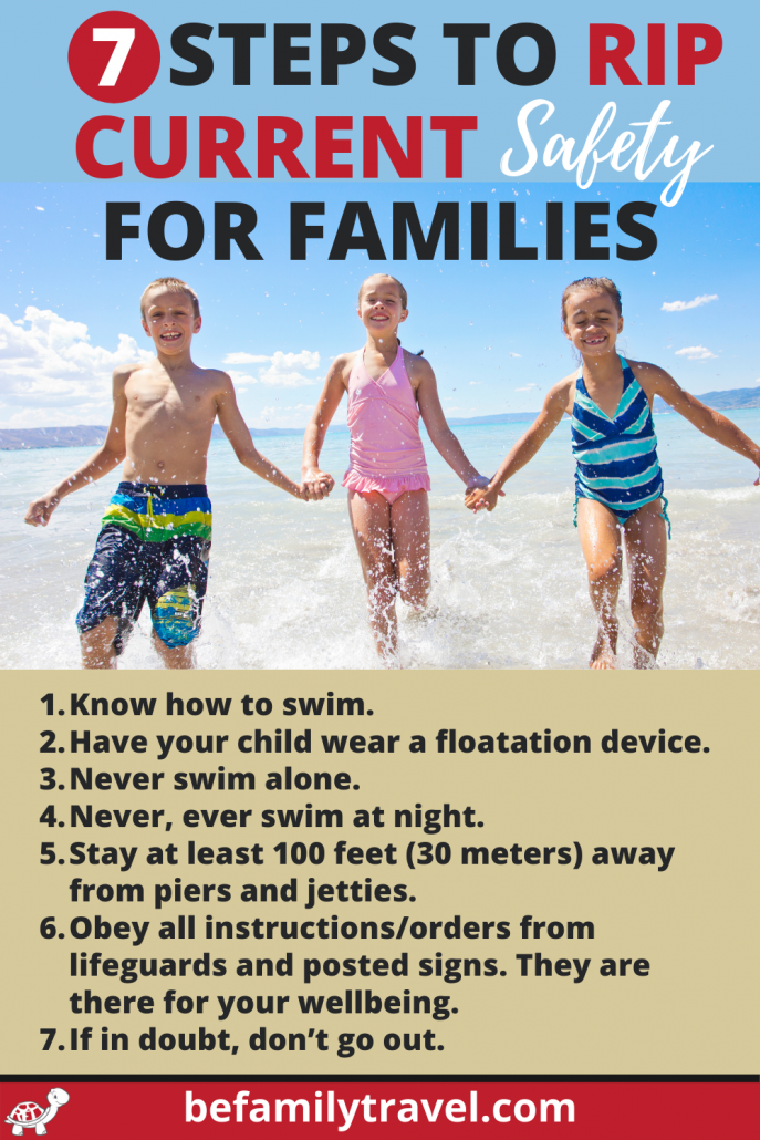 rip current safety for families