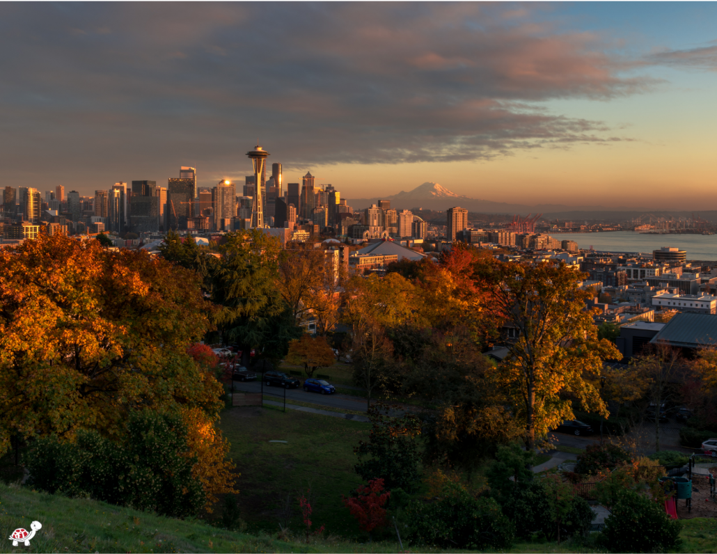 Visit Seattle with kids in autumn