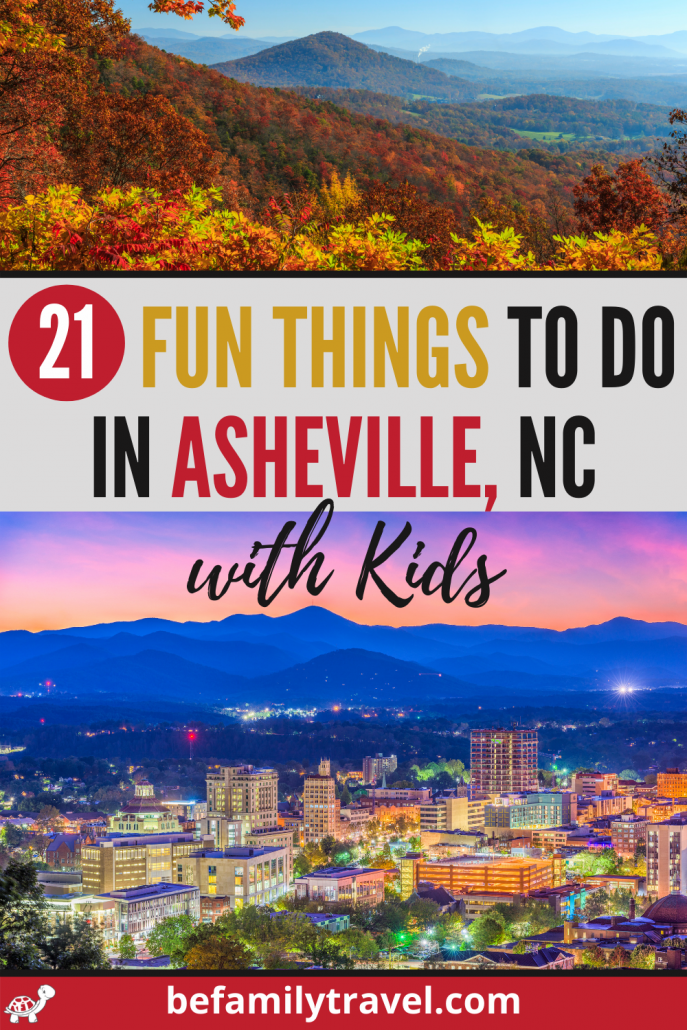 fun things to do in Asheville with kids