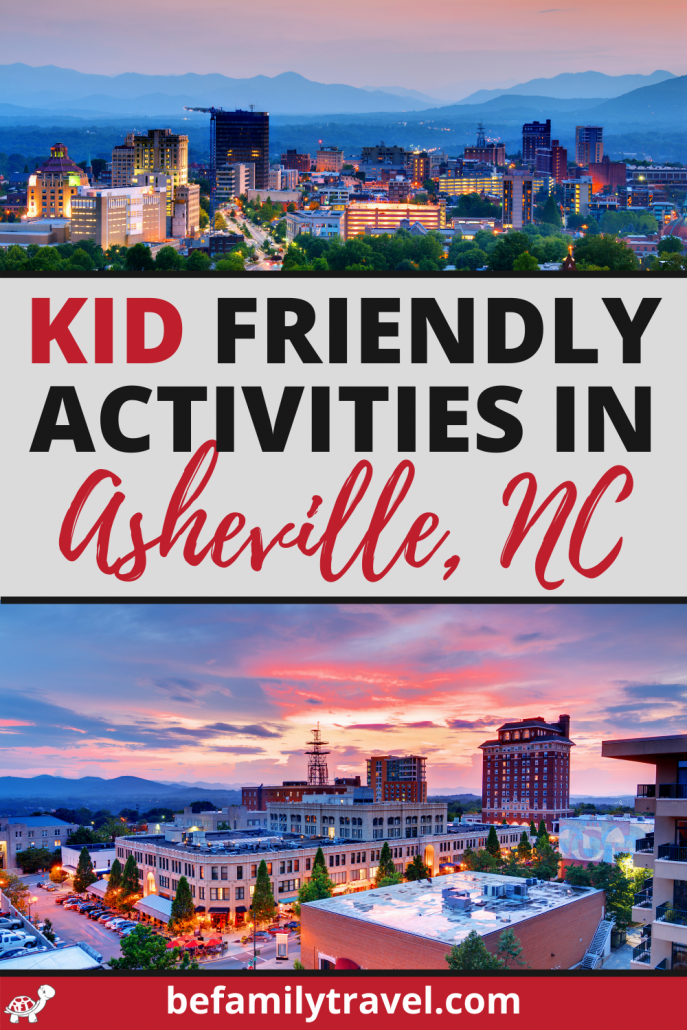 kid friendly activities in Asheville NC