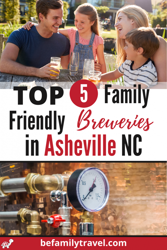 Family Friendly Breweries in Asheville NC
