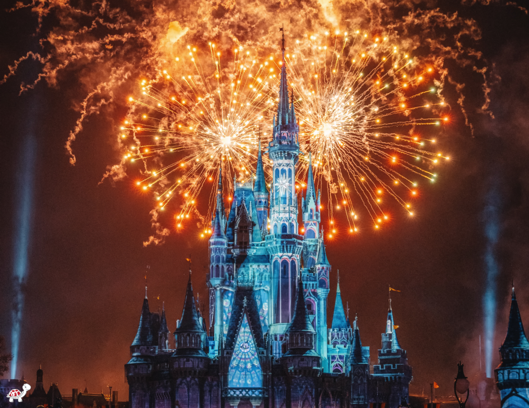 Disney World Itinerary - what time are Fireworks