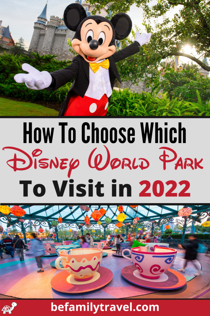 How to choose which Disney World Park to visit in 2022